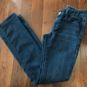 Banana Republic Skinny Straight Denim Jeans 24P